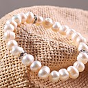 cheap Earrings-Pearl - Pearl Chain Bracelet For Daily