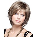 cheap Human Hair Capless Wigs-women lady short synthetic hair wigs