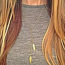 halpa Muotikorvakorut-Naisten Riipus-kaulakorut Y kaulakoru naiset Eurooppalainen Muoti Metalliseos Hopea Kultainen Kaulakorut Korut 1kpl Käyttötarkoitus Päivittäin Kausaliteetti