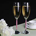 abordables Invitaciones de boda-Tostar Fluido ( Cristal ) - Personalizado - Tema Clásico