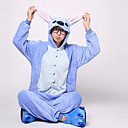 preiswerte Kigurumi Pyjamas-Erwachsene Kigurumi-Pyjamas Monster / Blaues Monster Pyjamas-Einteiler Kostüm Flanell Vlies Blau Cosplay Für Tiernachtwäsche Karikatur Halloween Fest / Feiertage / Weihnachten