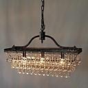 povoljno Lusteri-QINGMING® 3-Light Kristal Lusteri Downlight - Crystal, 110-120V / 220-240V Bulb not included / 15-20㎡ / E12 / E14
