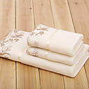 levne Bath Robes-Vynikající kvalita Sada koupacích ručníků, Jednobarevné 100% mikrovlákno Koupelnové