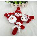 ieftine Christmas Toys-Cadouri de Crăciun Christmas Toys Bandă Jucarii Om de zapada Drăguț Mos Craciun textil 1pcs Bucăți