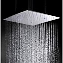 halpa LED-hehkulamput-20 Inch Stainless Steel 304 Ceiling Mounted Bathroom Shower Head With Atomizing And Rainfall Two Water Functions