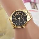 ieftine Ceasuri La Modă-Pentru femei Ceas La Modă Quartz Auriu Analog femei - Alb Negru Un an Durată de Viaţă Baterie / SSUO LR626