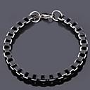 cheap Men's Bracelets-Men's Stainless Steel Chain Bracelet Vintage Bracelet - Line Bracelet For
