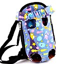 cheap Dog Travel Essentials-Cat Dog Carrier & Travel Backpack Front Backpack Pet Baskets Cartoon Portable Breathable Gray Yellow Red Blue Pink For Pets