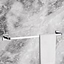 hesapli Elbise Askıları-Havlu Çubuğu Havalı Çağdaş Pirinç 1pc - Banyo / Otel banyo 1-Havlu Bar Duvara Monte Edilmiş
