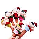 ieftine Christmas Toys-Păpuși de Degete Novelty Desen animat textil Fete Cadou 6pcs