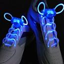 preiswerte Anime Cosplay Zubehör-LED Sport Schnürsenkel Glühen Schuhschnüre Runde Blitzlicht Schnürsenkel Leuchtschnürsenkel