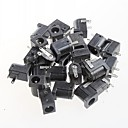 cheap Other Parts-Female DC Power Jack Supply Socket,DC-005, 5.5-2.1MM Socket (20pcs)
