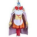hesapli Anime Kostümleri-Esinlenen Hayır Oyun No Yaşam Cosplay Anime Cosplay Kostümleri Cosplay Takımları Kırk Yama Kolsuz Elbise / Başlık / Bilezik Uyumluluk Kadın's