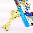 billige Anime Kostumer-Smykker Inspireret af Eventyr Cosplay Anime Cosplay Tilbehør Halskæder Legering Dame Varm