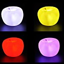 abordables Lámparas de Noche-1pc Luz de noche LED Batería Decorativa