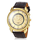 preiswerte Kleideruhr-Herrn Armbanduhr Armbanduhren für den Alltag PU Band Charme / Kleideruhr Braun