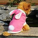 baratos Roupas para Cães-Gato Cachorro Camisola com Capuz Roupas para Cães Animal Vermelho Azul Rosa claro Lã Polar Ocasiões Especiais Para animais de estimação