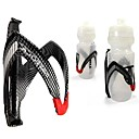 cheap Water Bottle Cages-Water Bottle Cage Recreational Cycling / Cycling / Bike / Fixed Gear Bike Full Carbon Black