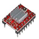 hesapli 3D Yazıcı Parçaları ve Aksesuarları-Isı lavabo 3d printe için a4988 step motor sürücü modülü
