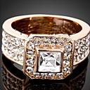 preiswerte Modische Armbänder-Damen Kristall Statement-Ring - Roségold, Kubikzirkonia, Diamantimitate Luxus, Modisch Eine Größe Farbbildschirm Für Party