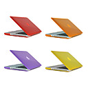 Χαμηλού Κόστους HDMI-MacBook Θήκη Μονόχρωμο Πλαστική ύλη για MacBook Pro 15 ιντσών / MacBook Pro 13 ιντσών