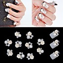 cheap Rhinestone & Decorations-10 Pearls Nail Jewelry Flower Classic Wedding Daily Flower Classic Wedding High Quality