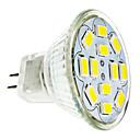 baratos Lâmpadas LED de Foco-2 W 240-260 lm GU4(MR11) Lâmpadas de Foco de LED 12 Contas LED SMD 5730 Branco Quente / Branco Frio 12 V