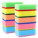 abordables Sets de Herramientas-10 piezas esponja limpia, 9x6x3 cm esponja (3.5x2.4x1.2 pulgadas)