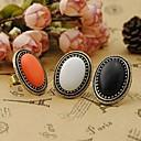 preiswerte Moderinge-Damen Statement-Ring - Aleación Retro, Modisch, Elegant Eine Größe Weiß / Schwarz / Orange Für Party Alltag Normal