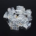 billige Elektriske plugger & støpsler-uskjermet RJ45 8P8C nettverk krystall (20pcs)