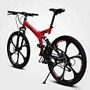 preiswerte Fahrräder-Geländerad Radsport 21 Geschwindigkeit 26 Zoll / 700CC Doppelte Scheibenbremsen Federgabel Vollfederung gewöhnlich Kohlenstoff / Aluminiumlegierung