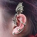 povoljno Stare svjetske nošnje-Žene Uho Manžete dame Vintage Moda Naušnice Jewelry Pink / Braon Za Dnevno