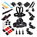 cheap Sports Action Cameras & Accessories  For Gopro-Case / Bags / Screw / Floating Buoy For Action Camera Gopro 5 / Xiaomi Camera / Gopro 4 Black Stainless Steel / Plastic / Aluminium Alloy