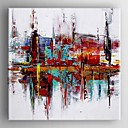 cheap Oil Paintings-Hand-Painted Abstract One Panel Canvas Oil Painting For Home Decoration