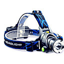 cheap Party Supplies-TD286 Headlamps / Headlight LED 800 lm with Batteries and Charger Zoomable / Waterproof / Adjustable Focus Camping / Hiking / Caving / Cycling / Bike / Traveling