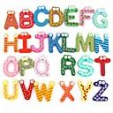 cheap Puppets-3D Wall Stickers ,The English Alphabet  Fridge Magnets  Wall Sticker