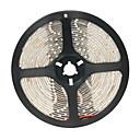 billige LED Lyskæder-5 m Fleksible LED-lysstriber 300 lysdioder 3528 SMD Varm hvid 12 V