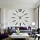 cheap DIY Wall Clocks-2015 New Home Decor Big Digital Wall Clock Modern Design Large Decorative Wall Clocks Watch Wall Hours Unique Gift