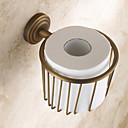 preiswerte Synthetische Perücken ohne Kappe-WC-Rollenhalter Antike Messing 1 Stück - Hotelbad