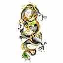 baratos Tênis Masculino-Séries Animal Tatuagem Adesiva - Estampado/Lombar/Waterproof - para Feminino/Adulto/Adolescente - de Papel - Multicolorido - 18.5*8.5cm 1