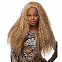 cheap Synthetic Capless Wigs-Synthetic Wig Curly Blonde Middle Part Synthetic Hair Fashionable Design / Cosplay Blonde Wig Women's Long Machine Made