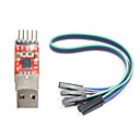 cheap Modules-CP2102 USB to TTL Converter Module for (For Arduino) (Works with Official (For Arduino) Boards)