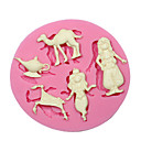 billige Bakeformer-aladdin eventyr silikon mold cupcake dekorere silikon mold for fondant håndverk smykker sjokolade PMC harpiks leire