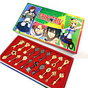preiswerte Anime Cosplay Zubehör-Mehre Accessoires Inspiriert von Fairy Tail Cosplay Anime Cosplay Accessoires Schlüsselanhänger Aleación Damen Halloween Kostüme
