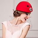 preiswerte Ohrringe-süße Woll weibliche Outdoor / besonderen Anlass / Casual / Hochzeit / Party Hut mit Bild (mehr Farben)