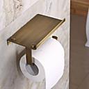 preiswerte Ablagen-WC-Rollenhalter Antike Edelstahl 1 Stück - Hotelbad