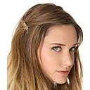 cheap Hair Jewelry-Women's Alloy Hair Tie Golden
