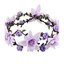 preiswerte Haarschmuck-Damen Elegant, Stoff Stirnband - Blume / Tiara / Tiara