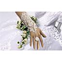 preiswerte Handschuhe für die Party-Baumwolle Handgelenk-Länge / Ellenbogen Länge Handschuh Charme / Stilvoll / Brauthandschuhe Mit Stickerei / Blumig / Einfarbig