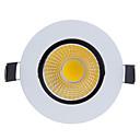 baratos Luzes LED de Encaixe-800-900lm 2G11 Lâmpada de Embutir Giratória 1 Contas LED COB Regulável Branco Quente / Branco Frio 220-240V